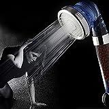 Alcachofa de Ducha, S7 SEVEN Filtro Duchas Cabeza 3-Way Spray Ducha de Mano de 200% Alta Presión de la Ducha de Mano Ahorro de Agua Duchas Jónico cloro Filtro Filtración Duchas Cabeza