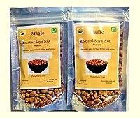 Roasted Masala Soya nuts by Magic/ Roasted namkeen/Soya Namkin/ Ready to eat/Gluten free snack /(Pack of 60 g* 2) 120 grams.