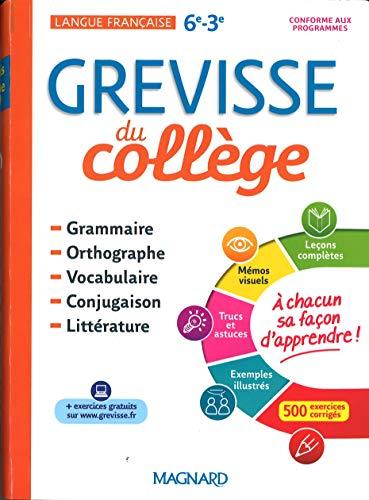 Grevisse du collège par Bénédicte Gaillard