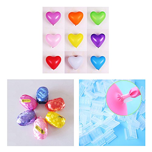 Stonges 100pcs Latex Ballons Set 12