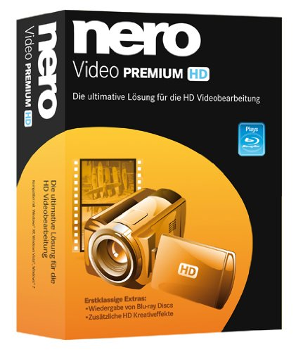 Nero Video Premium HD (Malen, Schneiden Tool)