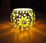 centrotavola vetro Design tealight portacandele 8 Cm