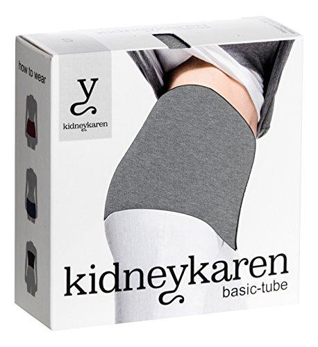 Kidneykaren - Chauffe-reins Basic - Femme Gris (Grey melange)