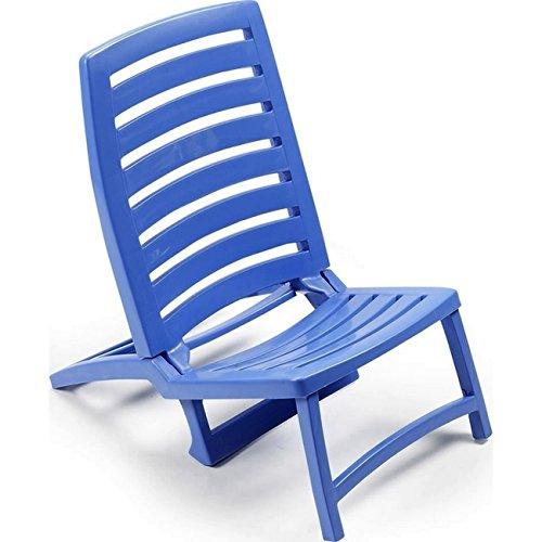 Ipae Rio Klappstühle, blau, 42x 58x 64cm -