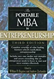 Telecharger Livres The Portable MBA in Entrepreneurship 2004 07 30 (PDF,EPUB,MOBI) gratuits en Francaise