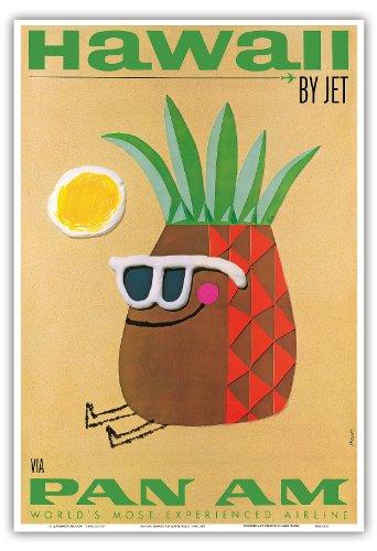 hawaii-von-jet-pan-american-airlines-paa-mr-ananas-kopf-vintage-retro-hawaii-reise-plakat-poster-von