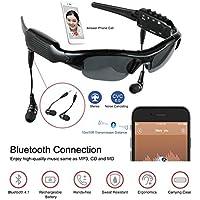 BJESSENCE 1 PC cámara usable HD 1080P gafas de sol deportivas lente estenopeica Eyewear videocámara Bluetooth