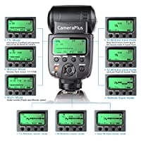 Mcoplus–Speedlite MK910–HSS flaş (LZ 60) gibi Nikon | 1/8000| i-TTL/TTL için uyumlu–SB-910 CP00117