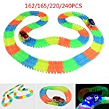#2: Kids_Bazar 108 Pieces Flexible Variable Track Set with Car