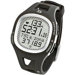 Sigma 21010 - Reloj pulsómetro, incluye banda torácica, señal analógica, color gris