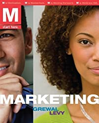 M: Marketing w/Review Cards & OLC Access Card 1st Edition by Grewal, Dhruv; Levy, Michael published by McGraw-Hill/Irwin Paperback