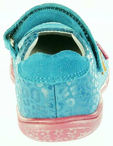 RICHTER Maedchen Klettschuhe, Sandalen, blau, 430709-7 blau
