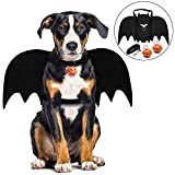 Legendog Dog Halloween Costumes, Halloween Bat Dog Costume/Dog Bat Wings/Dog Fancy Dress Costume/Pet halloween costumes for Medium Large Dogs Cosplay Decoration