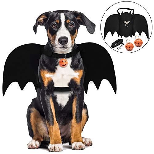 Süße Große Kostüm Hunde - Legendog Halloween Hund kostüm, Haustier Fledermaus Kostüm/Pet Bat Hund Kostüm/Pet Kostüm für Hunde Cosplay Party Weihnachten Special Events Kostüm