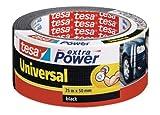 Cinta adhesiva americana gaffer tesa (25mx48mm), color negro