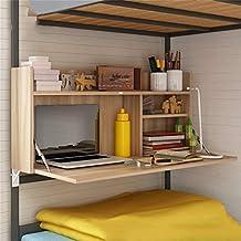 Folding shelf Mesa Plegable Mesa Multifuncional Litera Cama Dormitorio Mesa de Ajuste Lento Posibilidad de Ahorro