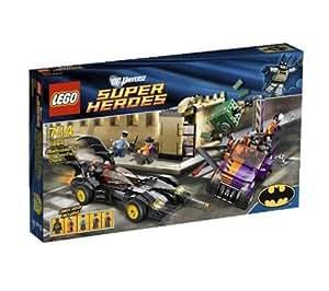LEGO Super Heroes - la Poursuite de Double-Face en Batmobile - 6864 + Super Heroes Marvel - Spiderman - La poursuite en moto-araignée - 76004