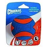 Chuckit! 52069 Ultra Squeaker Ball Large, 1 Hundeball kompatibel mit ballwerfer,...