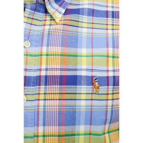 Ralph Lauren Herren Freizeit-Hemd Mehrfarbig - Mehrfarbig