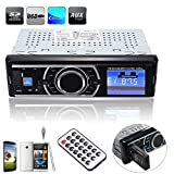 Autoradio Audio Stereo In-Dash MP3 Musik Player, ELEGIANT Auto KFZ LKW PKW MP3 Musik Player FM Radio Stereo USB Stick SD TF Empfänger mit Fernbedienung