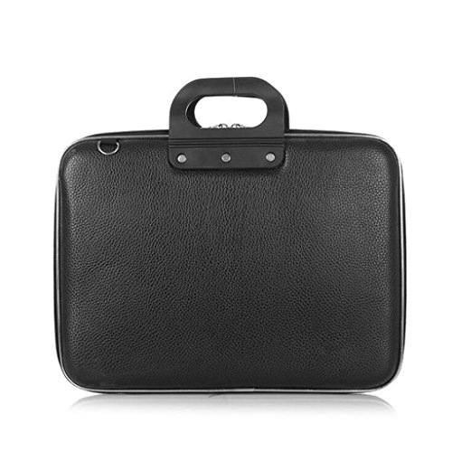 Borsa del portatile cartella di assicurazione della borsa di affari del regalo di riunione del pacchetto di mostra di assicurazione del guscio del computer di 15/15/16 di pollice duro della borsa ( colore : nero , dimensioni : 15inch )