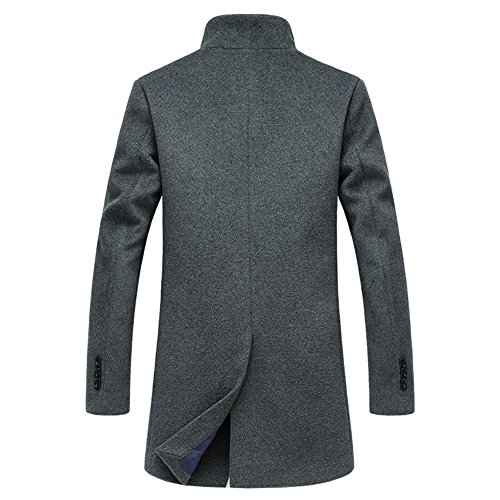 iisport Manteau l'hiver pour homme - épaissir et chaud - Nagymaros collier Gris
