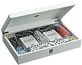 Juego Albus Medusa I Portacarte In Legno Leccato I Atrezzatura Da Poker & Texas Hold'em I Per Giocatori Professionisti I Alta Qualità - Trasparente