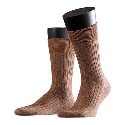 Preisvergleich Produktbild Falke City Herren Socken Bristol Pure 3er Pack, Größe:45/46, Farbe:Nutmeg Melange (5410)