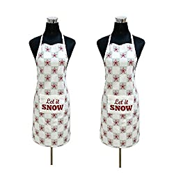 Apron - 100% Pure Cotton Branded Kitchen Apron,BUY 1 GET 1 FREE