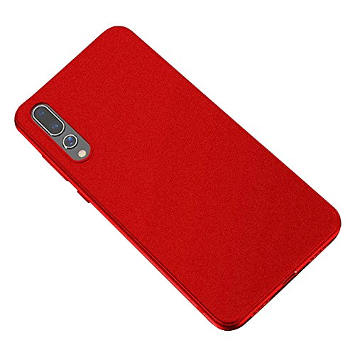Baanuse Huawei P20 Pro Case [Ultra Slim Soft TPU] [Sand Scrub Non