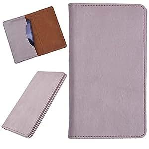 DCR Pu Leather case cover for Karbonn S5+ Titanium (veg)