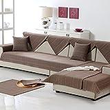 M&XGF Sofabezug,1 Stück Vintage Wildleder Couch Cover Anti-Rutsch-möbel Protektor Für Kissen Sofas-E 90x210cm(35x83inch)