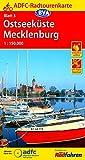 ADFC-Radtourenkarte 3 Ostseeküste Mecklenburg 1:150.000, reiß- und wetterfest, GPS-Tracks Download (ADFC-Radtourenkarte 1:150000) -