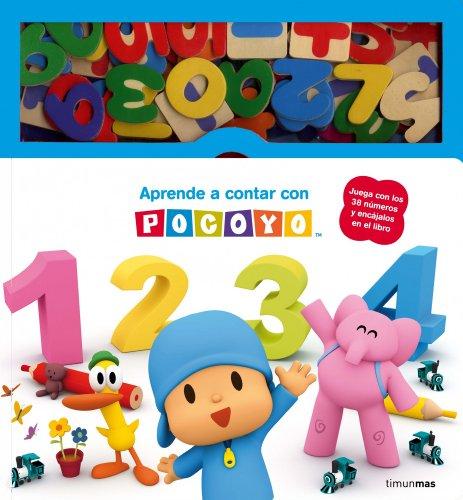 Aprende a contar con Pocoyó: Libro con piezas encajables: 6 (Pocoyo)
