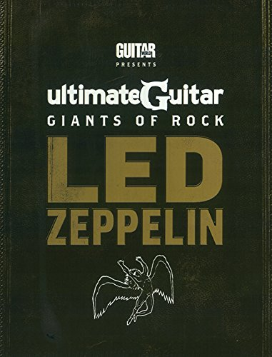 Ultimate Guitar Giants of Rock: Led Zeppelin [With Custom Dunlop Pick Pack and DVD and 4 Paperbacks] (Picks Zeppelin Guitar Led)