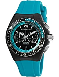 TechnoMarine unisexe 110017 Cruise Sport Chronograph noir et cadran bleu Rights Watch