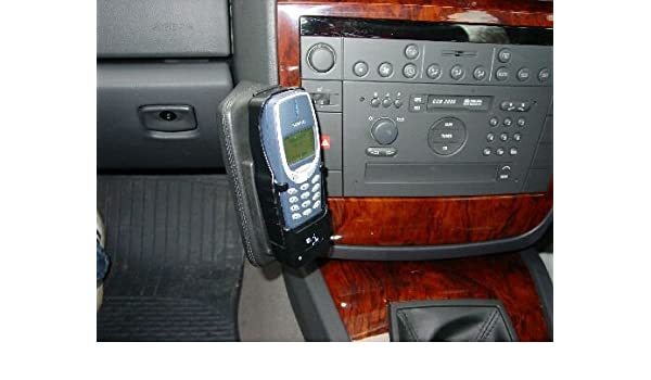 4257b89fba KUDA 194200 Mobile Phone Mounts Real Leather Black for right-hand-drive  Vauxh. Omega B since 10 1999 (inst.at top)  Amazon.co.uk  Electronics