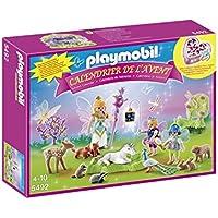 Playmobil - 5492 - Calendrier De L'avent - Fées Licorne Animaux De La Forêt