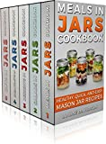 MASON JAR RECIPES BOOK SET 5 book in 1: Meals in Jars (vol.1); Salads in Jars (Vol. 2); Desserts in Jars (Vol. 3); Breakfasts in Jars (Vol. 4); Gifts in ... Mason Jar Recipe Cookbooks (English Edition)