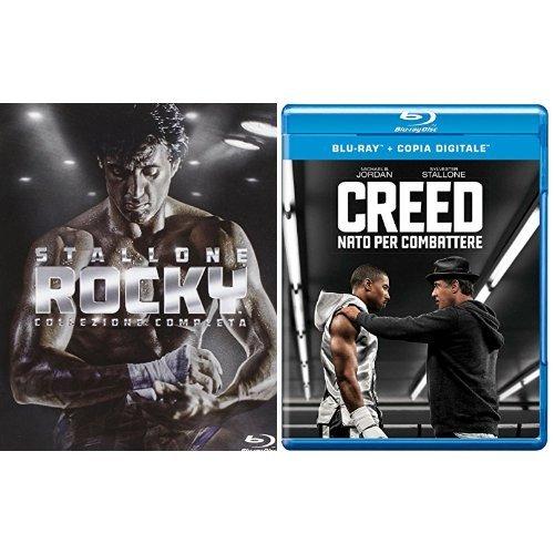 Rocky - La Collezione Completa + Creed - Nato per Combattere (Blu-ray)