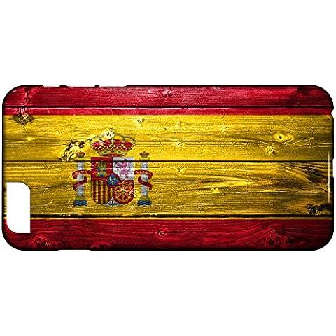 Funda Carcasa para iPhone 6 Plus & 6S Plus Bandera ESPAÑA 02