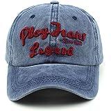 Handcuffs Stylish Cotton Baseball Adjustable Blue Cap For Men/Women (BFVCU90)