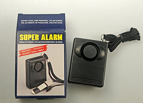 Mobiler Super Alarm Taschenalarm 110 dB laut Personen Alarmsystem