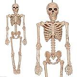 PartyHut 5 Feet Halloween Horror Human Man Skeleton Hanging Prop Decoration