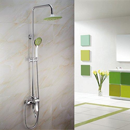 SDKKY salle de bain douche fixe des prothèses, des cabines de douche de cuivre
