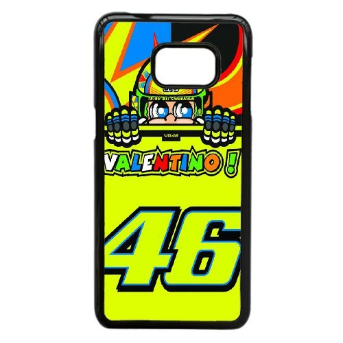 Samsung Galaxy S6 Edge Plus Cell Phone Case Black Valentino Rossi VR 46 Custom Case Cover QW8I542073
