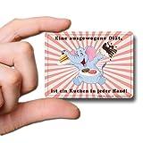 GUMA Magneticum 6122 Kühlschrank-Magnete Sprüche Kuchen Magnet Spruch Elefanten-Diät Humor lustig