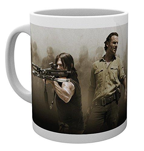 GB Eye LTD, The Walking Dead, Rick and Daryl, Taza
