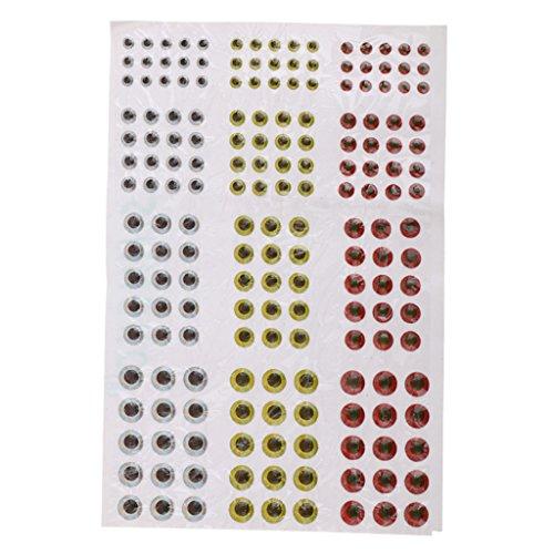 generic-circa-183pz-formato-misto-3-4-5-6mm-occhi-pesca-esca-per-mosche-bambole-artigianali-maschere