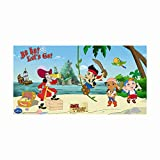 Disney Unique Party Yo Ho Jake und die Nimmerland Piraten Scene Setter Wand-Dekoration, 5m x 2,5m